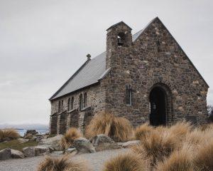 The Church of the good Shepherd am Lake Tekapo