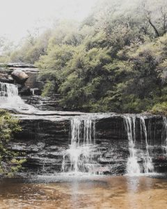 Wentworth Falls in den Blue Mountains