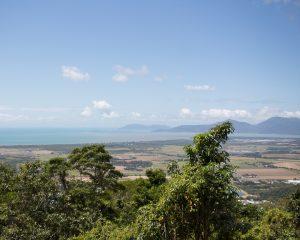 Ausblick über Cairns