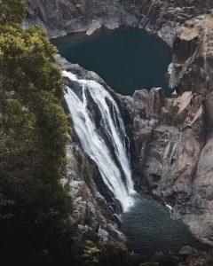 Ein Teil der Barron Falls