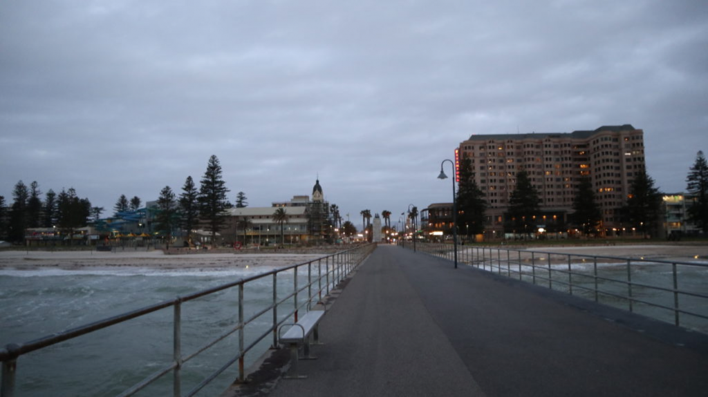 Glenelg Beach in Adelaide