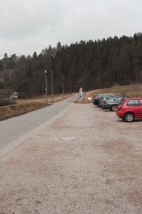 Dreimühlen-Wasserfall Parkplatz