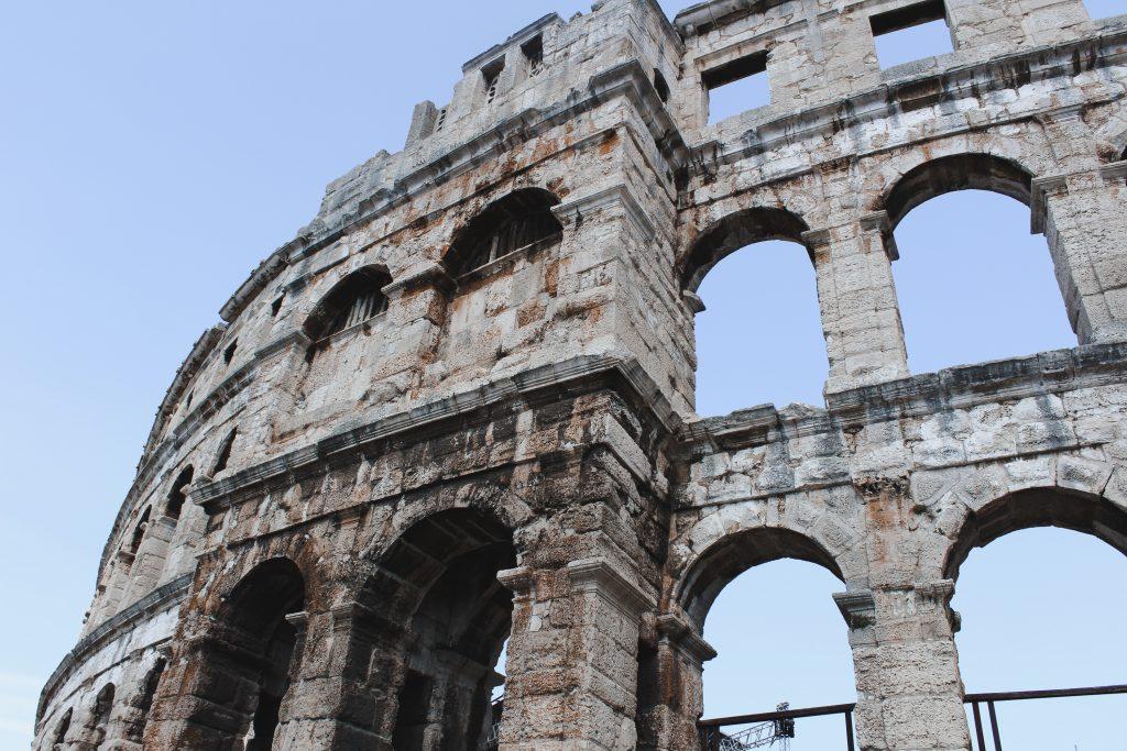 Pula: Amphitheater